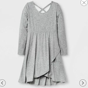 Dresses & Skirts - Gray 3/4 sleeves dress